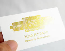 500 Business Cards 500 Business Cards Metallic Foil Stamped On Silk Laminated