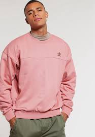 adidas originals sweatshirt mottled pink adidas originals mens