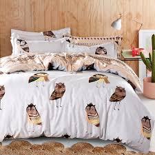 organic king bedding set tokida for