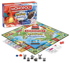 Monopoly Map Amazon Com Monopoly Pokemon Kanto Edition Game Toys U0026 Games