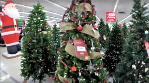 4k christmas section at kmart xmas holiday shopping trees