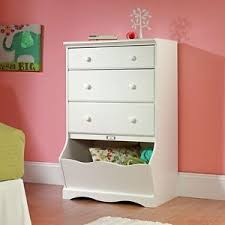 Armoire Chest Of Drawers Kids Bedroom Furniture White Dresser Toy Box Girls Armoire Storage