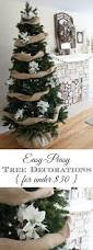 Easy Diy Christmas Tree Garland Easy Peasy Christmas Tree Decorating The Crazy Craft Lady