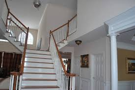 Decorating Open Floor Plan Help With Paint In A 2 Story Foyer With An Open Floor Plan Mirror