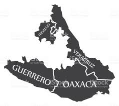 Guerrero Mexico Map by