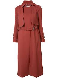 rachel comey belted trench coat paprika women clothing u0026 raincoats