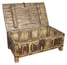Rustic Coffee Table Trunk Decoration In Rustic Trunk Coffee Table Langley Reclaimed Wood