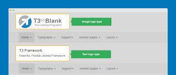 joomla blank template bs3 configuration t3 joomla template framework
