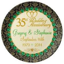 personalized anniversary plate personalized 25th anniversary porcelain plate 25th anniversary