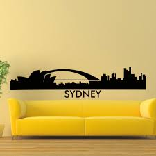 Home Decor Sydney Cbd Online Buy Wholesale Sydney Wall Decal From China Sydney Wall
