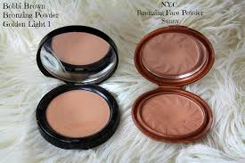 bobbi brown golden light bronzer bobbi brown bronzing powder and nyc sunny bronzer makeup dupes