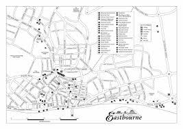 eastbourne england tourist map eastbourne u2022 mappery