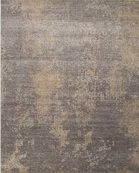 amazing deal on jaipur living naga hand knotted abstract gray