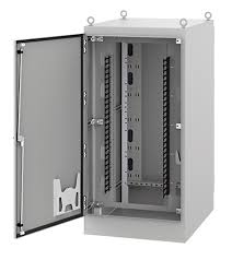 Hoffman Cabinet Seismic Free Standing Dual Access Cabinet Type 12 Products