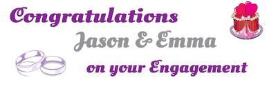congratulations engagement banner 93 png