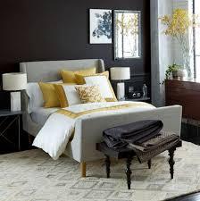 nailhead upholstered headboard west elm home design ideas