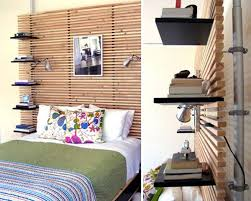Diy Bookshelf Headboard Bedroom Amazing Diy Headboard Shelf Storage Idea Woohome 12