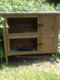 Sale Rabbit Hutches Double Rabbit Hutch For Sale Wolverhampton West Midlands