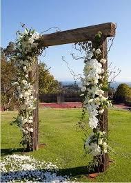 wedding arches diy easy diy wooden white flowers arch for 2014 wedding wooden arch
