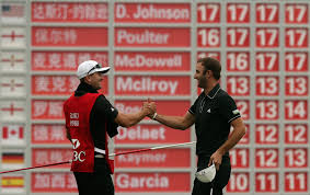 dustin johnson u0027s brother buddy goad and caddie the new york times