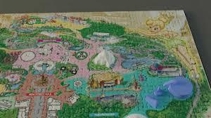 World Map Puzzles by New 4d Disneyland Anaheim 750 Piece Jigsaw Puzzle Youtube