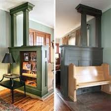 Wall Room Divider by Room Divider Such A Great Idea For That Load Bearing Wall That