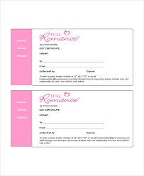 gift certificate template word 8 free word documents download