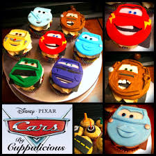 speciality cupcakes by cuppalicious disney pixar cars cupcakes check out to disney cars