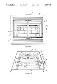 patent us5263471 solid fuel clean burning zero clearance