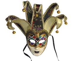 venetian jester mask venetian classic purple green black harlequin joker mask