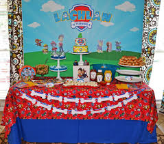 paw patrol candy table ideas paw patrol party by brittany schwaigert birthday express