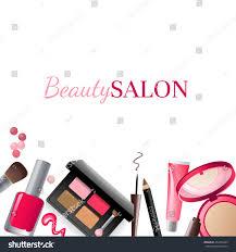 glamorous makeup background stock illustration 454255495