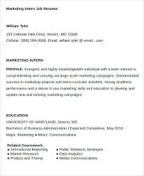 marketing skills resume 28 marketing resume templates pdf doc free premium templates