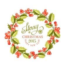 christmas mistletoe christmas mistletoe wreath royalty free vector image