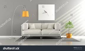 modern living room white sofa big stock illustration 656577535