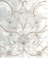 wedding dress fabric pearl embroidered fabric f a b r i c bridal fabric
