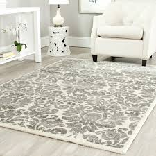 11 X 11 Area Rug Amazon Com Safavieh Porcello Collection Prl3714a Grey And Ivory