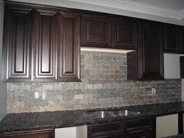 dark kitchen backsplash with dark cabinets kitchens with wood and