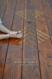 Plans For A Wood Picnic Table by Best 25 Diy Picnic Table Ideas On Pinterest Outdoor Tables
