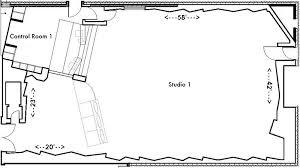 recording studio floor plan eastwest studios studio one