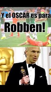 Robben Meme - the oscar goes to robben meme