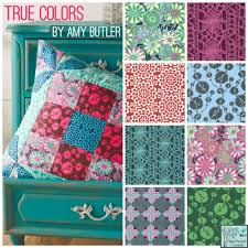 Amy Butler Home Decor Fabric by Amy Butler True Colors Amy Butler Wallflower In Poppy