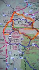 Mt Rushmore Map Trail U0027s End Mt Rushmore And The Crazy Horse Memorial Honey