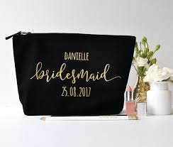 wedding gift kits online shop custom title name date set of 6 makeup toiletry kits