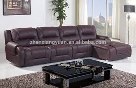 Brown Leather L Shaped Sofa L Shaped Leather Sofa Bed Beds Thediapercake Home Within Designs 8