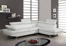 Cheap White Leather Sectional Sofa Reclining Sectional Sofas For Small Spaces White Leather Sectional