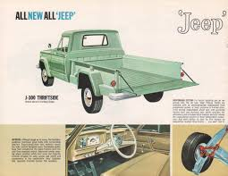 jeep kaiser custom kaiser 1963 gladiator jeep sales brochure