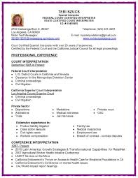 Mental Health Resumes Medical Interpreter Resume Resume For Your Job Application