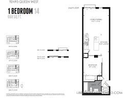 1 Bedroom Condos by 1 Bedroom Condo Floor Plans