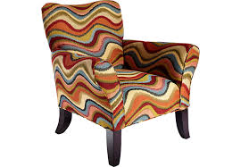 Retro Accent Chair Retro Festival Orange Accent Chair Accent Chairs